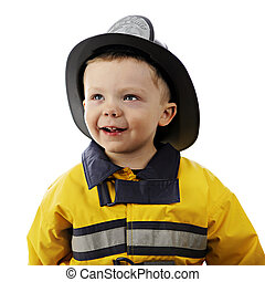 Happy Little Fireman