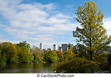 Central Park Lake, New York City