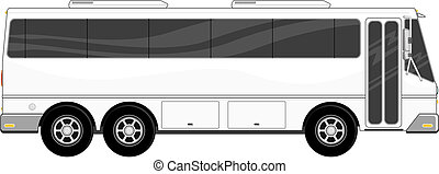 passenger bus isolated - illustration of passenger bus...