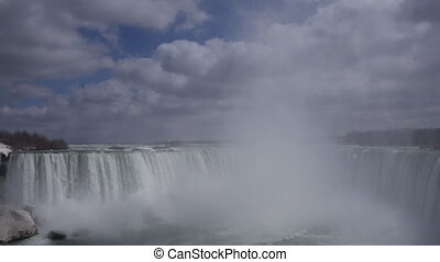 Niagara Horseshoe Falls 2 Slomo 24P - Beautiful slow motion...
