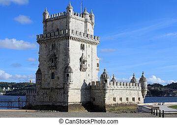 Torre de Belem, Portugal - Torre de Belem, Lisbon Portugal...
