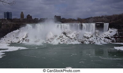 Niagara American Falls 2 Slo Mo 24P - Beautiful slow motion...