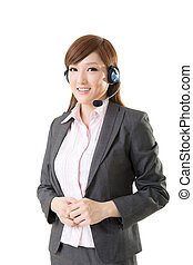 Asian business woman - Attractive Asian business woman,...