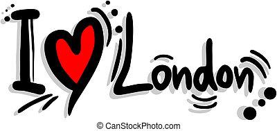 Love london - Creative design of love london