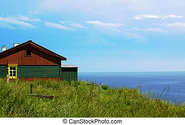 Country house - Old rustic house near lake Baikal