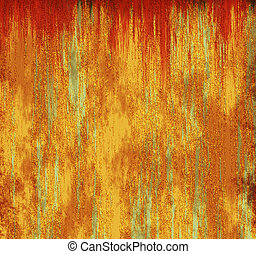 Rust metal plates background