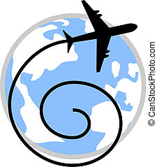 World travel - Creative design of world travel