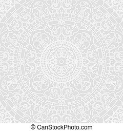 Vector silver oriental background