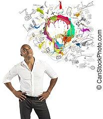creativo, empresa / negocio