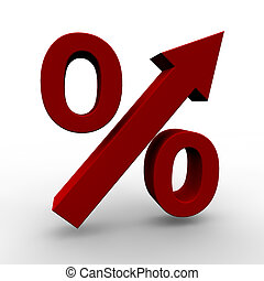 Increasing Prices - Image symbolize increasing prices,...