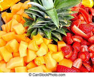 季節性, 水果, 沙拉