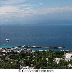 Capri - Harbor in Capri