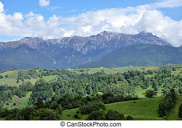 The Bucegi mountains, Romania