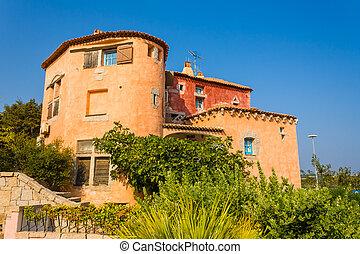 Porto Cervo - A house in Porto Cervo, Sardinia, in...