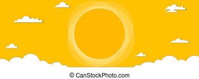 cloudscape banner