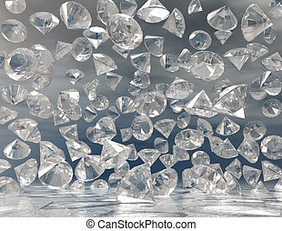 diamonds - digital visualization of diamonds