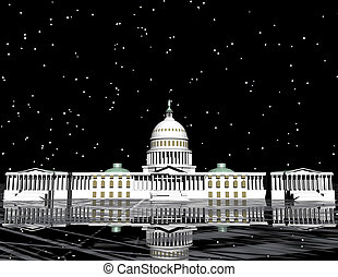 capitol - digital visualization of the capitol