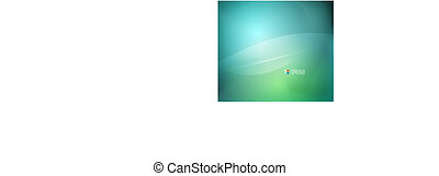 Green blue vector abstract background