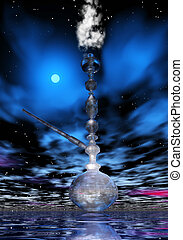 Shisha - Digital Illustration of a Shisha