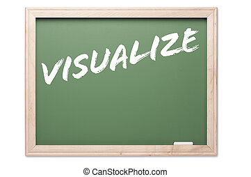 Quote Series Chalkboard - Visualize - Quote Series...