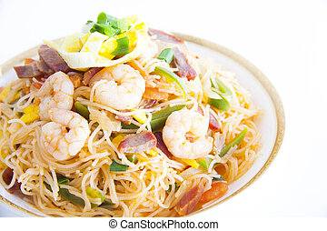 arroz, fideos, (Chinese, Noodle)