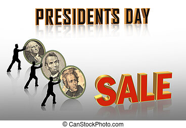 Presidents Day Sale graphic
