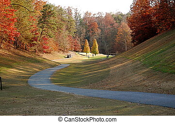 Golf Fairway - Golf fairway in Gatlinburg, Tennessee.