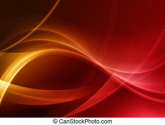 Wavy abstract background - Colorful wavy abstract background...