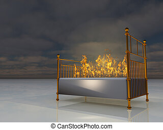 The Burning Bed - Burning Bed