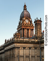 townhall leeds backview - Leeds town hall viewed from...