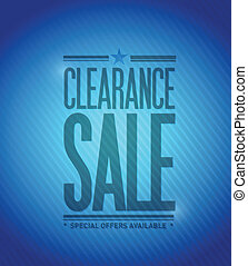 clearance sale concept illustration design graphic...