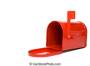 Mailbox - A postal mailbox ready for mail and packages.