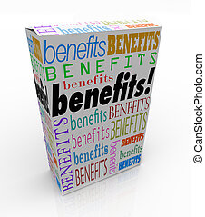 Benefits Word Product Box Marketing Unique Qualities - The...