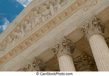 The Supreme Court of the United States in Washington, DC,...