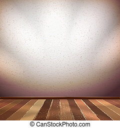 Nice wooden floor background. EPS 10