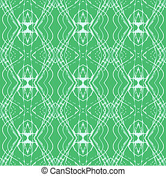 Elegant linear pattern with lacing ornament - Simple,...