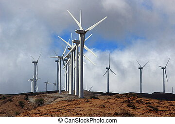 Megjul energia - Windmills, renewable energy...