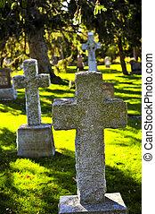 cementerio, Lápidas