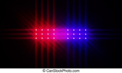 Cop Lights 2 - Animated cop Lights