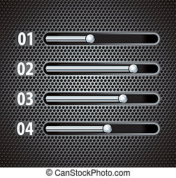 progress bar design template - vector illustration