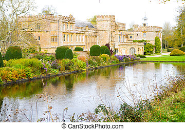 English stately home Forde Abbey
