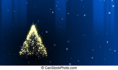 Chiristmas Tree - Animation of christmas tree.