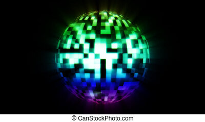 Discoball Color - Simply animated discoball