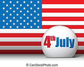 United States Independence Day Background