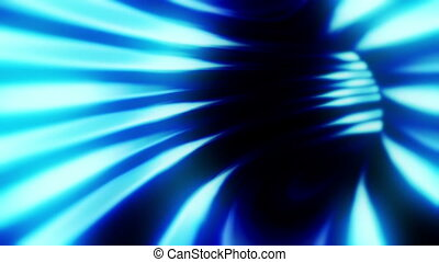 Tunnel Only Blue - Endless tunnel animation.