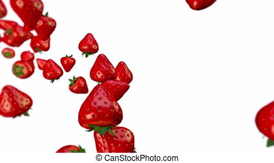 Strawberry - Loopable animation of strawberry