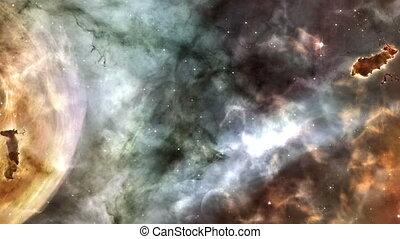 Nebula 2 - Animated nebula scene