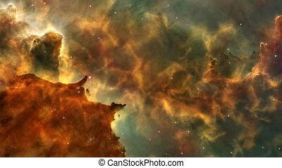 Nebula 1 - Animated nebula scene