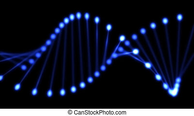 DNA - Visualition of a DNA