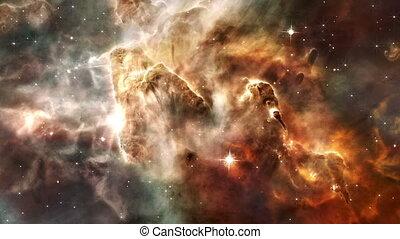 Nebula4 HD - Animated nebula scene